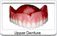 Upper denture from Gentle Family Dental in Avondale, AZ