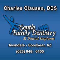 Charles Clausen, DDS - Gentle Family Dentistry & Orthodontics Logo