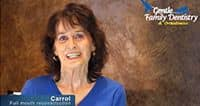 Carrol's Video Dental Testimonial