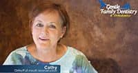 Cathy's Video Dental Testimonial