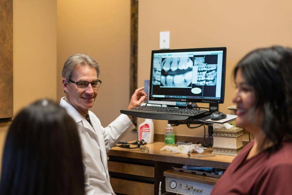 Avondale Dentist - Charles Clausen DDS - Staff - Patient Consult